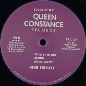 High Fidelity - High Fidelity - 98 - QUEEN CONSTANCE