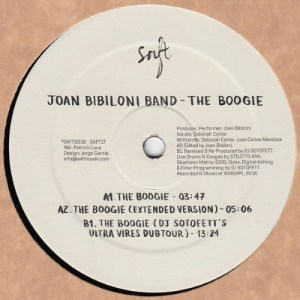 Joan Bibiloni Band - The Boogie/ Dj Sotofett Rmx - SAFT17 - SAFT