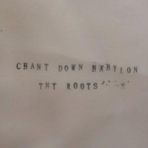 TNT Roots - Chant Down Babylon Verse 2/Gast Version - 5GTNT - 5 GATE TEMPLE