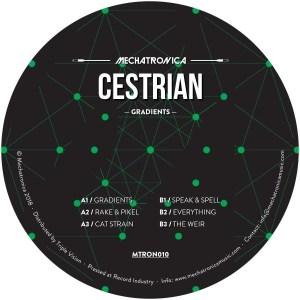 Cestrian - Gradients - MTRON010 - MECHATRONICA MUSIC