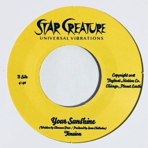 Tension - Call Me / Your Sunsine - SC7034 - STAR CREATURE