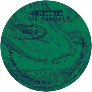 DJ Sports - Akrasia - HELP013 - HELP RECORDINGS