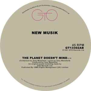 New Musik - The Planet Doesnt Mind - GT13302AB - GTO