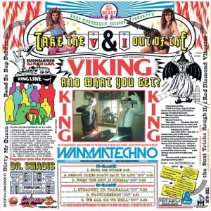 DJ Candle In The Wind - Take The V & I Out Of Viking And What You Get? - IMR005 - IRON MAGNESIUM RECORDS