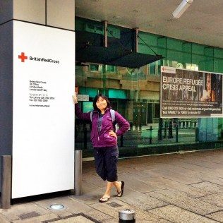 British Red Cross, proud to have been part of this organization