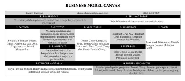 Contoh Bumsiness Model Canvas