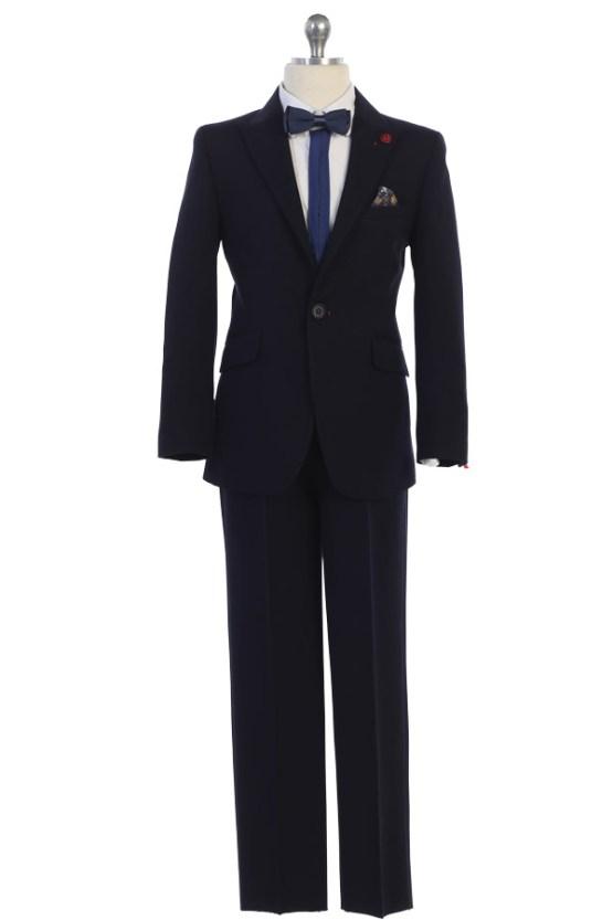 mayoreo traje de niño para vender en azul marino