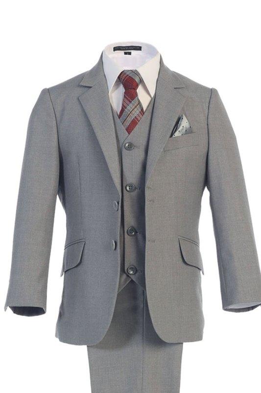 Mayoreo traje de niño en gris solo mayoreo para venta