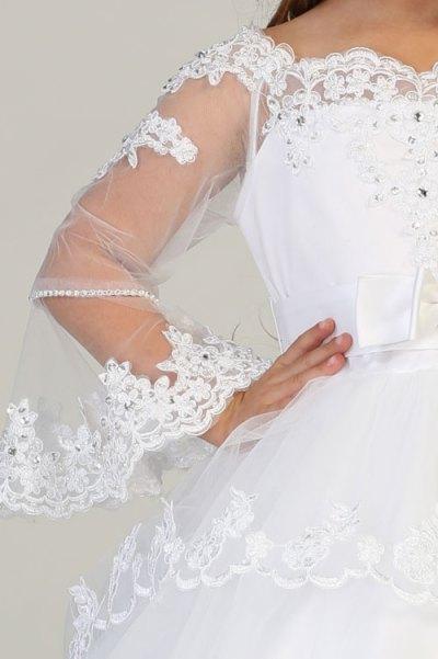 Wholesale white dress for girls