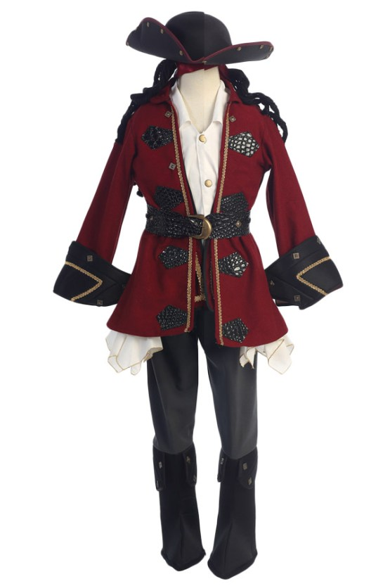 pirates of the caribean Wholesale pirate costume