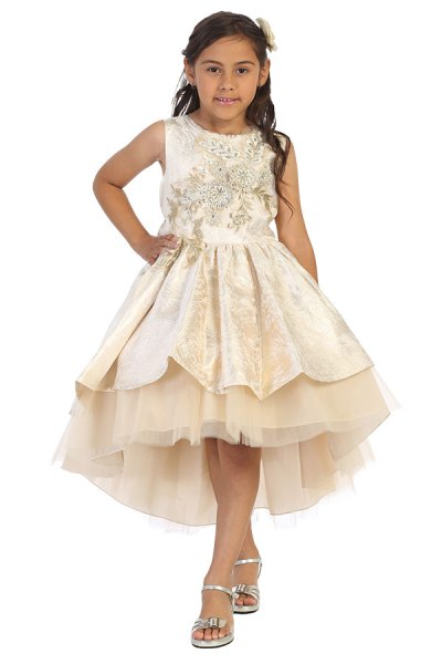 wholesale kids clothing for special occasions parties and more gold dress