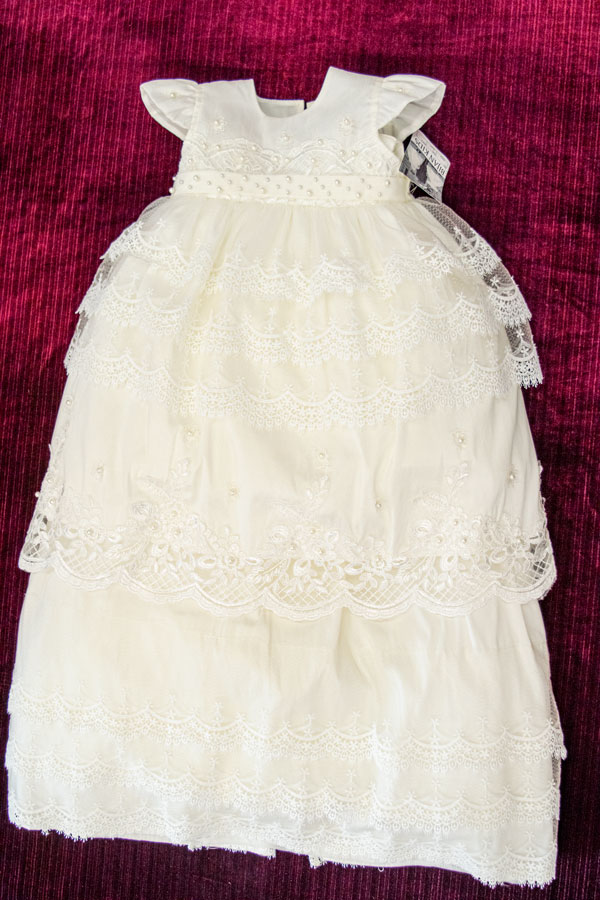 baptism gown for girls