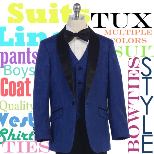 Boys tuxedos and suits wholesale