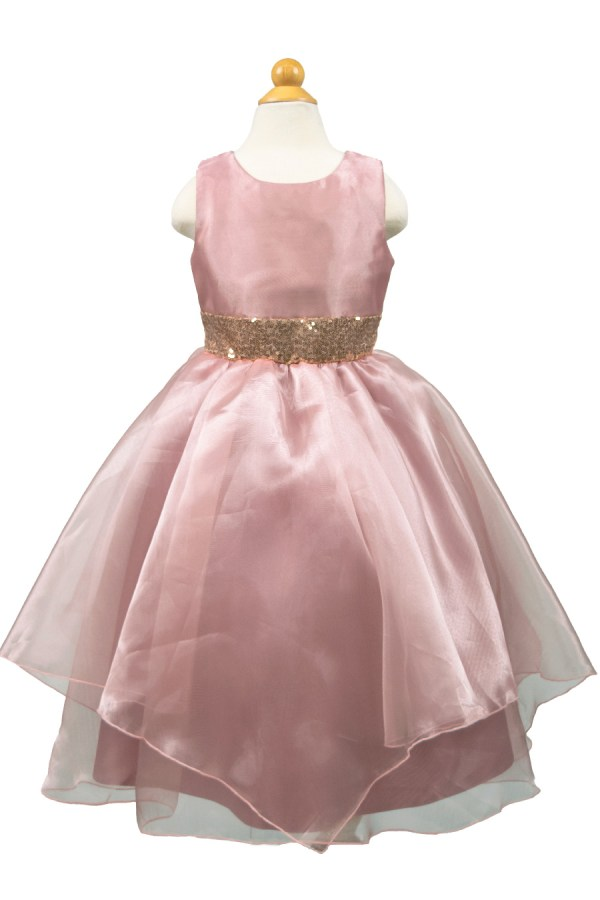 Bijan Kids style 9010 Chiffon Dress