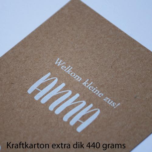bij Bis papiersoorten kraftkarton 440 grams