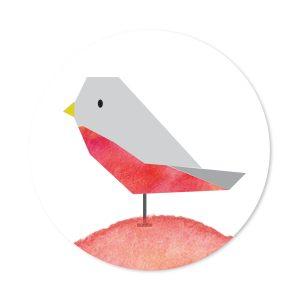 sluitzegel vogeltje