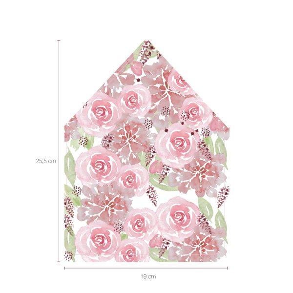 envelop liners A5 la vie en rose