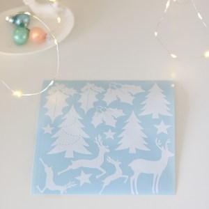 kerst classics stickers overzicht set
