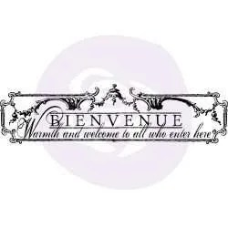 decor transfer bienvenue - iron orchid designs