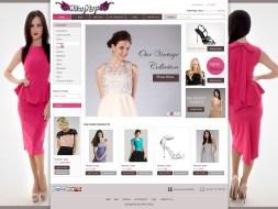 Website Design - Ritz Rags
