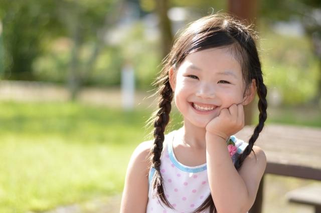 子供、笑顔、オリゴ糖