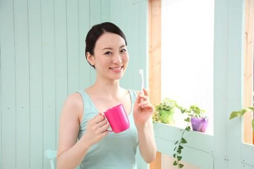 f口臭予防、歯磨き
