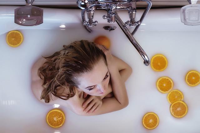 入浴と睡眠と美肌