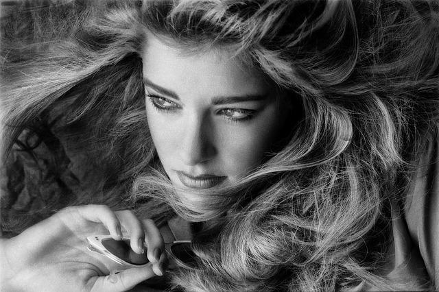 モデル_美容、女性