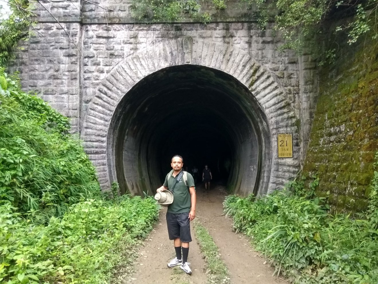 Heritage walk at Dima Hasao-Abandoned Tunnel