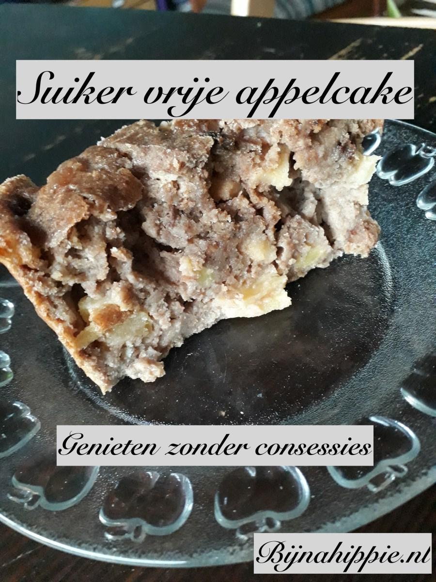 Suikervrije appelcake - Bijna Hippie