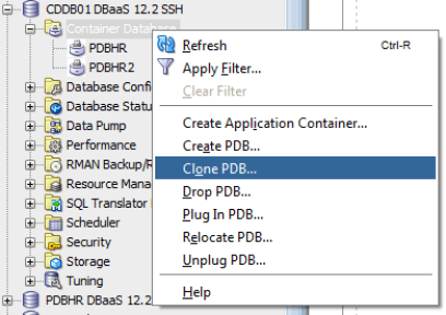 12 Days of #Cloud: PDB Management Using #DBaaS Monitor Console
