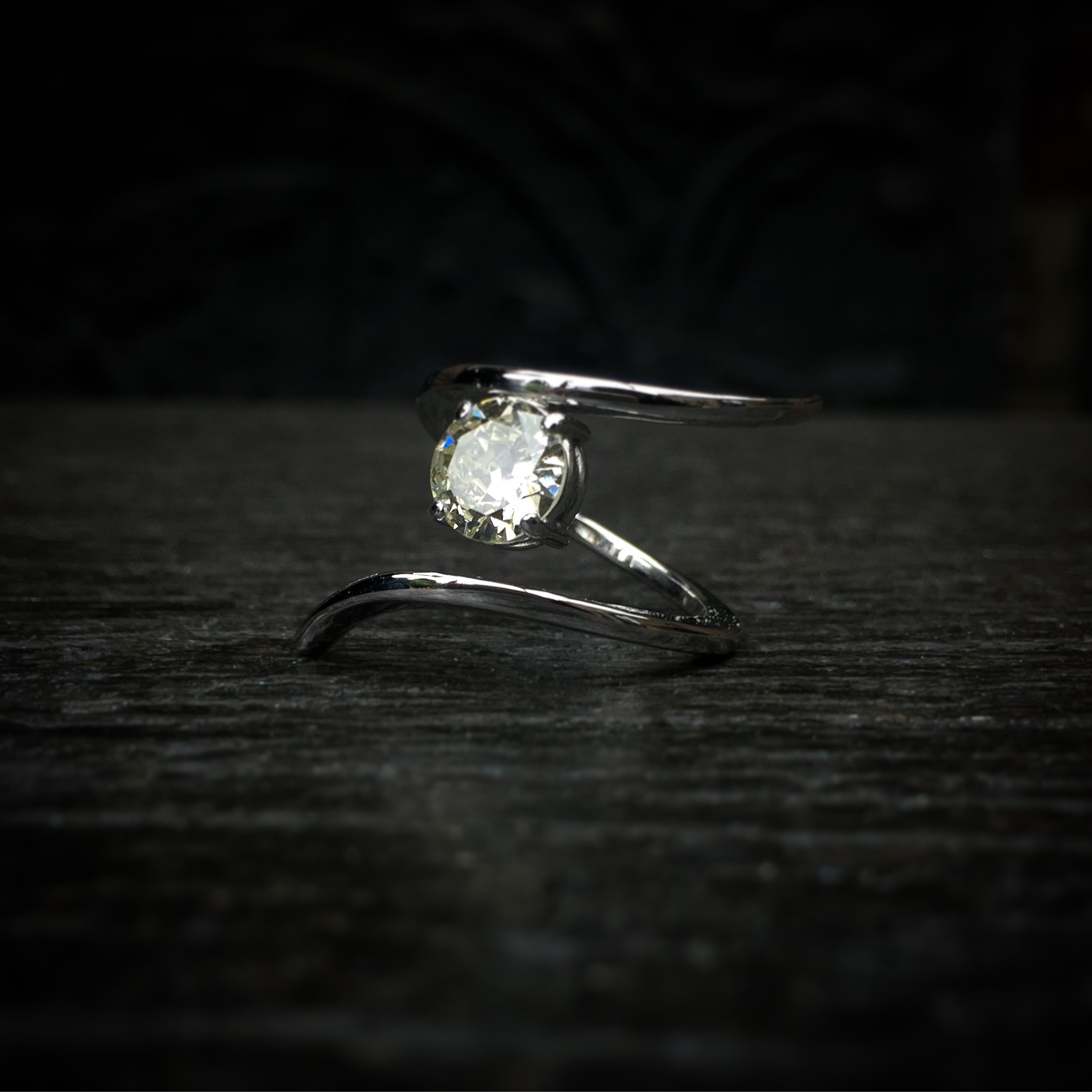 Bague Ruban Diamant 1,5ct