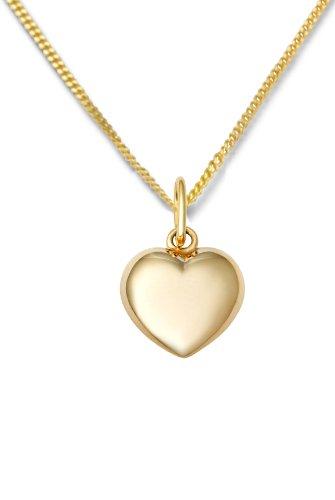Miore-MA961CHN-Collier-Femme-avec-pendentif-Coeur-Or-jaune-3751000-9-carats-15-gr-45-cm-0