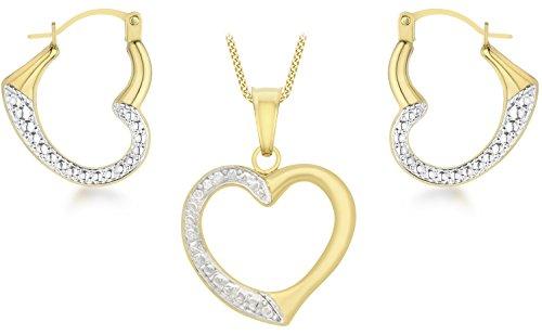 Carissima-Gold-Parure-Collier-et-Boucles-dOreilles-Femme-Or-Jaune-3751000-9-Cts-098-Gr-0