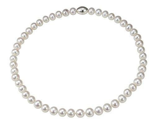 Adriana-la-Mia-Perla-Collier-Sportiva-925-Argent-rhodi-perle-deau-douce-Blanc-45-cm-s21-0