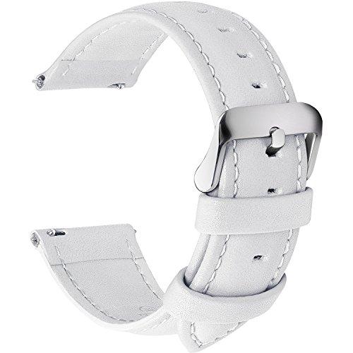 Bracelet-de-montre-en-cuir-libration-rapide-Fullmosa-Axus-Series-Bracelet-de-montre-en-cuir-vritable-avec-fermoir-en-mtal-inox-18mm-Blanc-0