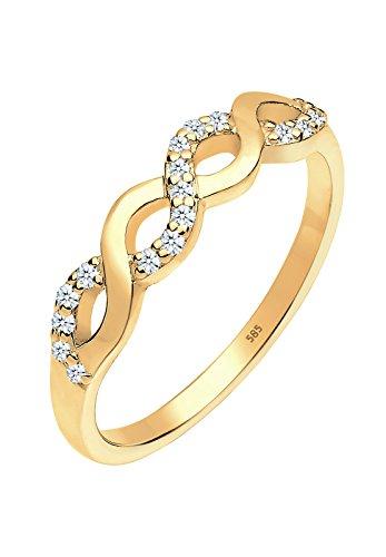 DIAMORE-Bagues-Femmes-Or-jaune-14-k-585-Diamant-Blanc-018-ct-060464041454-0