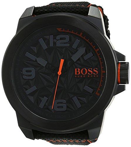Hugo-Boss-Orange-1513343-Montre-Homme-Quartz-Analogique-Cadran-Noir-Bracelet-Nylon-Noir-0