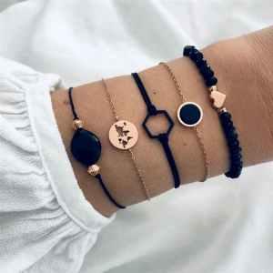Bracelets Monde Doré
