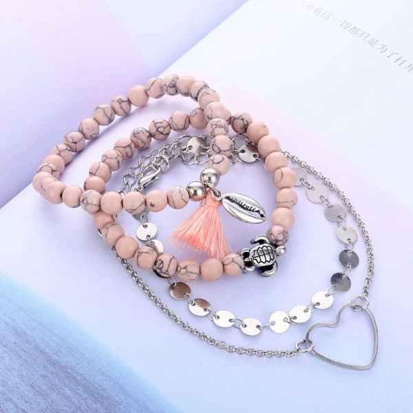 Lot de bracelet bohème