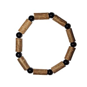 Bracelet Simple Tourmaline Noire