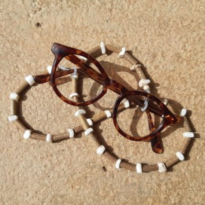 Cordon lunettes Coquillages