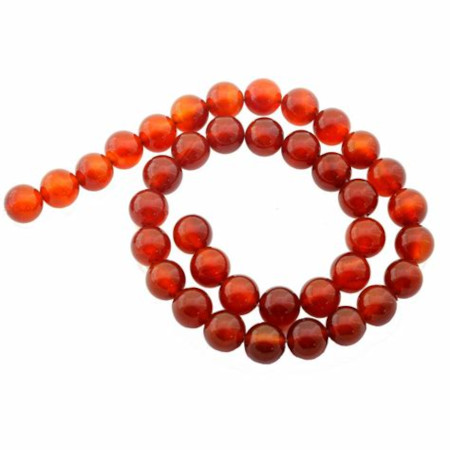 Perles cornaline