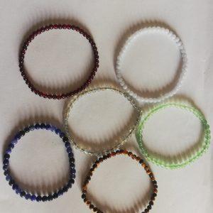bracelet pierres naturelles de 6mm