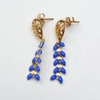 boucles d oreilles epi bleu bod s (Copier)