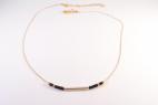 collier dore barre noir (Copier)