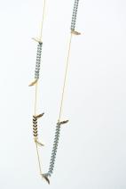 sautoir dore epis gris et plumes 2 (Copier)