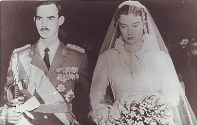 1953 04 09 Mariage GDH Jean de L & Joséphine-Charlotte de B 2