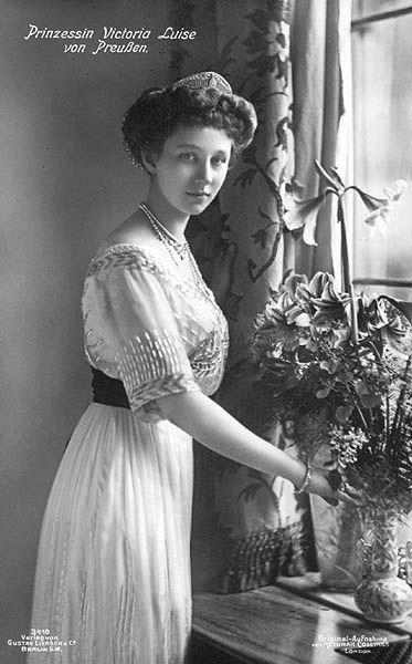 Princesse Victoria-Louise de Hanovre, duchesse de Brunswick 2