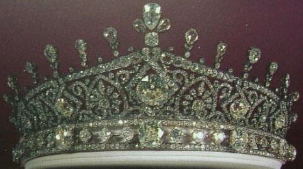 Empress Farah's Diamond Tiara